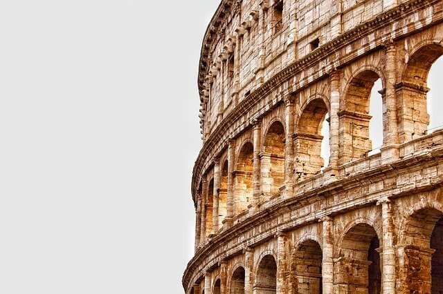 Koloseum - historia liczb rzymskich